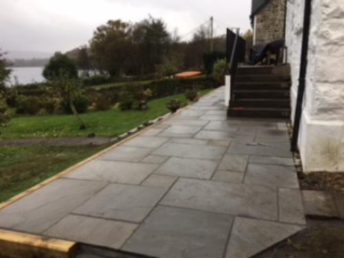 Patio construction Argyll
